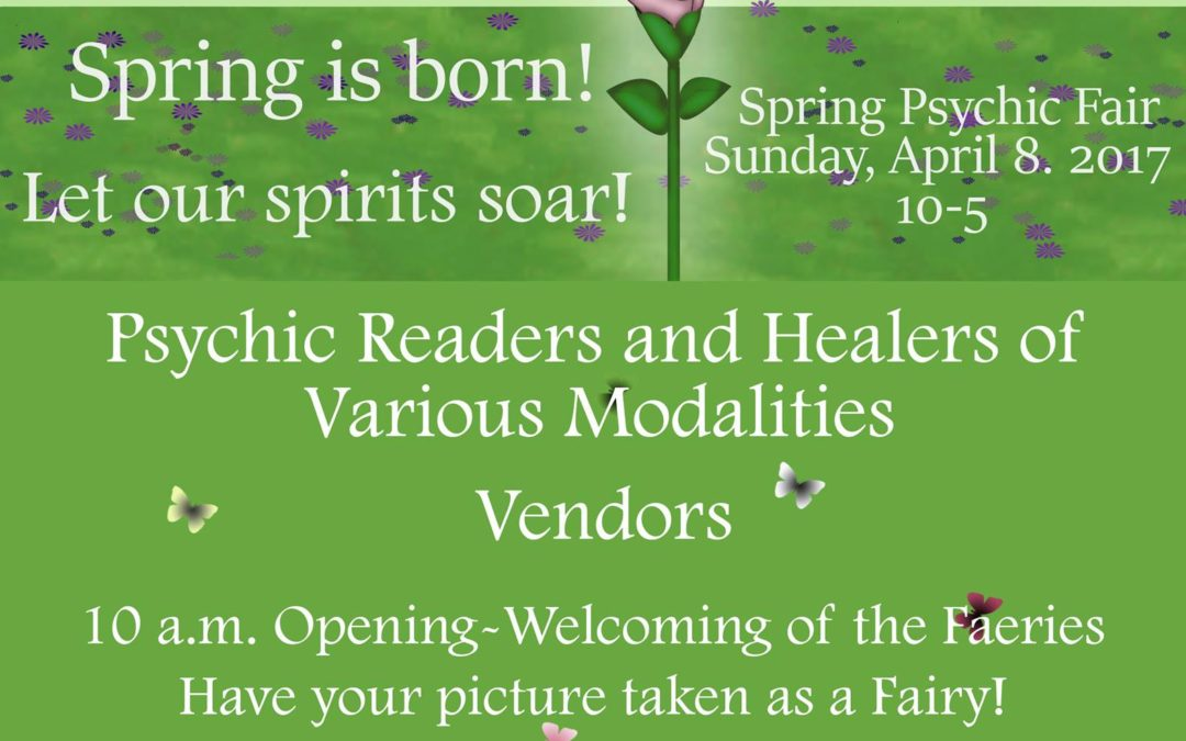 4/8/18 Psychic and Healing Fair